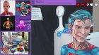 Vücut Boyası ile Kendini Superman'e Çeviren Kadının Çalışması (Timelapse)