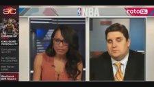 Brian Windhorst ESPN Kanalında Canlı Yayında Uyuyakaldı