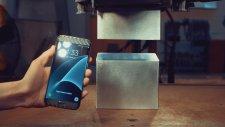 Galaxy S7 Edge, 400 Tonluk Hidrolik Pres Makinesinin Altında Kalırsa?