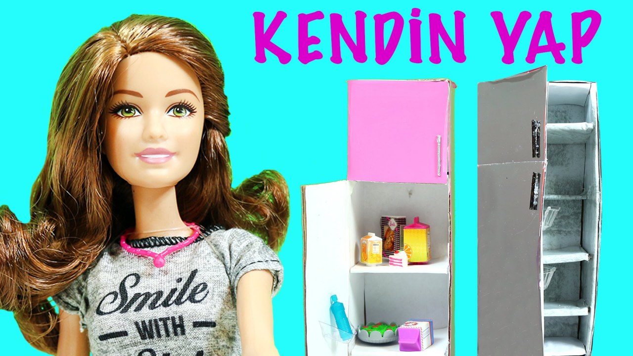 Barbie Izle Buzdolabi Yapimi Nasil Yapilir Evciliktv Kendin