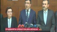 Kalkınma Bakanı Cevdet Yılmaz'ın Diyarbakır basın toplantısı
