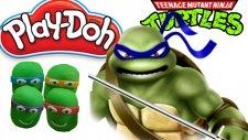 Ninja Kaplumbağalar Oyun Hamuru İle Sürpriz Yumurta Açılımı - Oyuncaktv