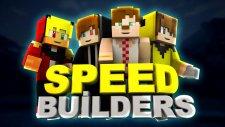 Oyun Fena Fake Attı  -5- Minecraft: Speed Builders - Minecraft Evi