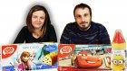 Çizgi Film Karakterlerinin Abur Cuburları | Cars Arabalar Minions Minyonlar Frozen Karlar ülkesi
