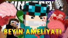 Minecraft Thediamondminecart'a Beyin Ameliyatı Yapıyorum! (Korkunç Kanlı Ameliyat)- Ahmet Aga