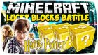 HARRY POTTER OLDUM! - Minecraft HARRY POTTER ŞANS BLOKLARI!