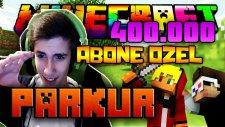 Çift Facecam! Ve Çıldırdım!! - Minecraft | 400.000 Abone Özel Video! - Parkur!