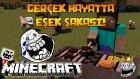 Gerçek Hayatta Eşek Şakası! - Minecraft Hunger Games #172