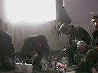 Teröristlerin Kürtçe Şarkılar Eşliğinde Çaydanlık Bombası Hazırlaması