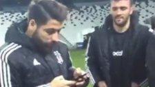 Beşiktaşlı Futbolcuların Vodafone Arena'da Keyifleri Yerinde