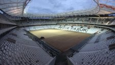 Vodafone Arena'da skorbord yükseldi