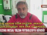 Kızına Mesaj Atan Futbolcuyu Döven Malzemeci Röportajı