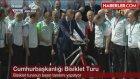 Kenan Sofuoğlu'ndan Cumhurbaşkanı Erdoğan'ı Mest Eden Bisiklet Şov