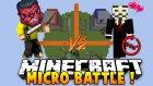360 Dönen Hacker İzleyici? (Minecraft : Micro Battle #7) W/ısmetrg - İloveminecraft