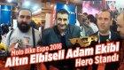 Altın Elbiseli Adam Ekibi - Hero Standı (Moto Bike Expo 2016)