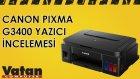 Canon Pixma G3400 İncelemesi