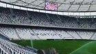 Vodafone Arena'da çimler sulanıyor