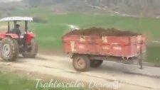 Çiftçilerin Fizik Kurallarını Hiçe Sayan Traktör Kapışması