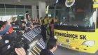Fenerbahçe'ye Çılgın Karşılama!