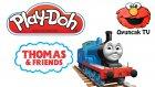 Oyuncak Tren Thomas Oyun Hamuru Yapımı - Oyuncaktv