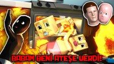 Bebek Fırının İçerisindeki Ateşde Yanıyor!! | (Who's Your Daddy) - Türkçe Takıntılı Oyuncu