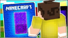 Minecraft 8 RENK PORTAL ve 8 AYRI DÜNYA! - Zümrütleri Buluyoruz