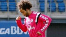 Marcelo antrenmanda yaptı yapacağını!