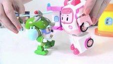 Robocar Poli Heli'ye yardım ediyor-MUTLU ÇOCUK