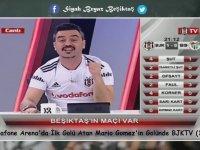 Vodafone Arena'da Beşiktaş'ın İlk Golünde BJK Tv