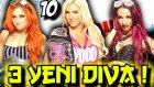 3 Kemer Macı Ve 3 Yeni Diva | Wwe 2k16 Universe | 10.bölüm | Ps 4 | Türkçe