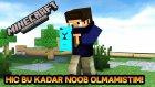 BENİ HİÇ BU KADAR NOOB GÖRMEDİNİZ!! - Minecraft Pocket Edition Survival Games (Türkçe)