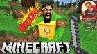 Ölümüne Takip | Minecraft Türkçe Şans Blokları Hunger Games | Bölüm 9 |  Oyun Portal