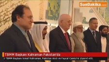TBMM Başkanı   İsmail  Kahraman Pakistan'da