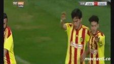 Kayseri Erciyesspor 0-2 Alima Yeni Malatyaspor (Maç Özeti - 13 Nisan Çarşamba 2016)