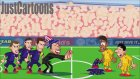 Atletico Madrid - Barcelona Maçı Animasyon Film Oldu