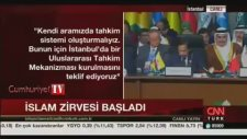 Erdoğan Konuşurken Uyudular
