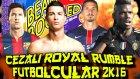 Futbolcularla Cezali Royal Rumble | Wwe 2k16 | Ps4 Türkçe