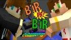 Minecraft Bir Vs Bir Challenge ! -Minecraft Evi