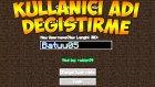 Minecraft Oyun İçinden İsim Değiştirmek! - Kullanıcı Adı Değiştirme Modu
