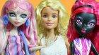 Barbie Monster High Acayipler ve Ever After High komşu kavgası 1. Bölüm  | EvcilikTV