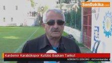 Kardemir Karabükspor Kulübü Başkanı Hikmet Ferudun Tankut