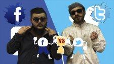 Destansı Rap Savaşları: Facebook vs Twitter