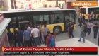 Çevik Kuvvet Ekibini Taşıyan Otobüse Silahlı Saldırı