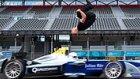 Formula E Üzerinden Ters Saltoyla Atlayan Çılgın Dublör: Damien Walters