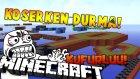 Sinirlenip Çıktım Küfürlü! - Minecraft Koşerken Durma! - Don't Stop Sprinting- İloveminecraft