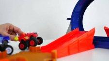Blaze On Racing Track- Mutlu Cocuk