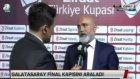 Hikmet Karaman, Galatasaray maçı sonrası konuştu