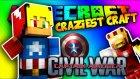 Kaptan Amerika İç Savaş! | Minecraft | Craziest Craft | Bölüm 24 | Tto
