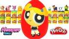 Powerpuff Girls Bubbles Sürpriz Yumurta Oyun Hamuru - Gumball Şirinler Cicibiciler Anime