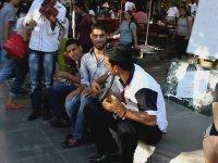 Ankara Kızılay'da Sokak Müziği